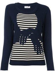 свитер в полоску 'hands'  Sonia Rykiel