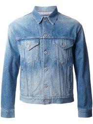 джинсовая куртка с контрастной панелью Doublet