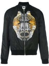 куртка-бомбер с графическим принтом  Les Hommes Urban