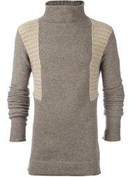 свитер с высокой горловиной Rick Owens