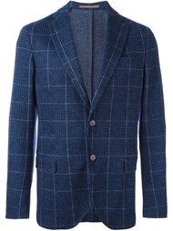 пиджак на одну пуговицу с узором Eleventy