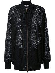 кружевная куртка бомбер Stella McCartney