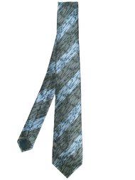 галстук в полоску Lanvin