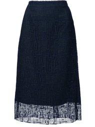 юбка А-силуэта с вышивкой Grey Jason Wu