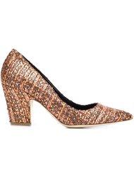 туфли на массивном каблуке  Rupert Sanderson