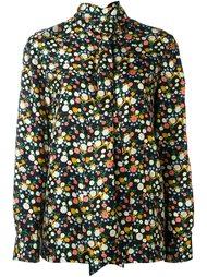 блузка с цветочным узором Tory Burch