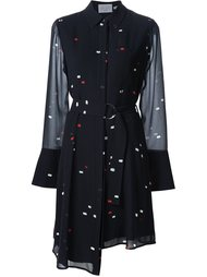 платье-рубашка с поясом Grey Jason Wu