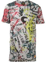 футболка с абстрактным принтом   Vivienne Westwood Anglomania