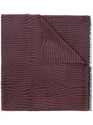 шарф с рисунком под зебру Lanvin