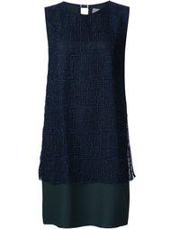 платье шифт с вышивкой Grey Jason Wu
