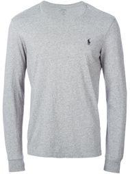 футболка с вышитым логотипом  Polo Ralph Lauren