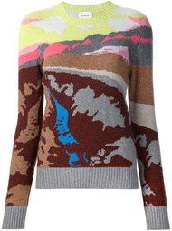 свитер с абстрактным принтом   Barrie