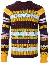 свитер с вышивкой  Kenzo