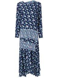 платье-шифт с цветочным принтом  Preen By Thornton Bregazzi
