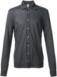 узкая рубашка на пуговицах Massimo Alba