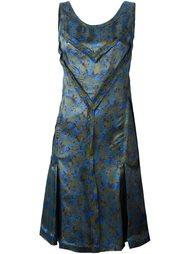 платье с цветочным принтом   Maison Margiela