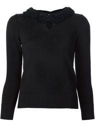 свитер с рюшами Marc Jacobs