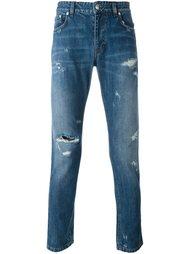 джинсы кроя слим Versus