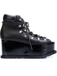 ботинки на платформе Sacai