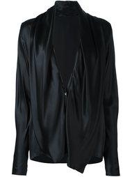 блузка с глубоким V-образным вырезом Haider Ackermann