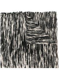 тканый шарф с зебровым узором Faliero Sarti