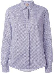 рубашка с мелким узором Fay