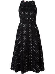 расклешенное платье без рукавов Giamba