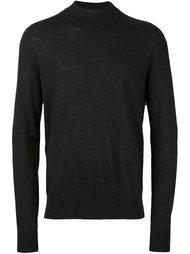 свитер с круглым вырезом в рубчик Maison Margiela