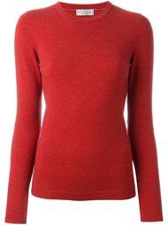 свитер с заплатками на локтях Brunello Cucinelli
