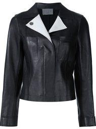 куртка с контрастными лацканами Grey Jason Wu