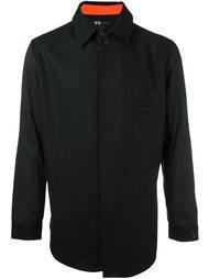 рубашка с контрастной подкладкой Y-3