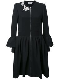 платье-рубашка с оборками Preen By Thornton Bregazzi