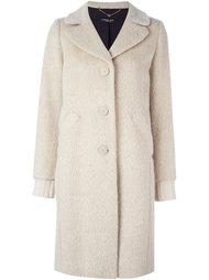 однобортное пальто Twin-Set