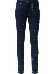декорированные джинсы кроя скинни Muveil