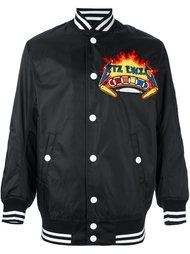 куртка-бомбер с вышитой нашивкой KTZ