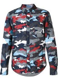 куртка с камуфляжным рисунком Moncler Gamme Bleu