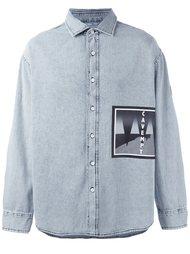 джинсовая рубашка  C.E.