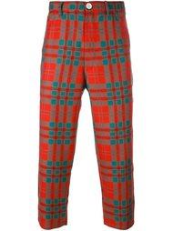 брюки в шотландскую клетку Comme Des Garçons Shirt Boy