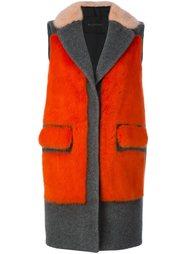 пальто с панельным дизайном Blancha