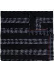 шарф в ломаную клетку Paul Smith