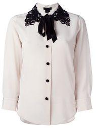 блузка с кружевным воротником Marc Jacobs