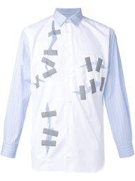 рубашка с рваными деталями   Comme Des Garçons Shirt