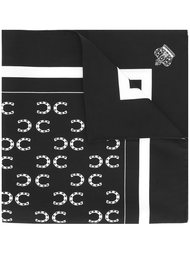 нагрудный платок с принтом подков Dolce & Gabbana