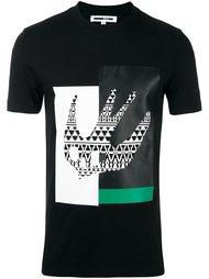 футболка 'Masai Fairisle Swallow' McQ Alexander McQueen