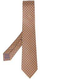 галстук с принтом пауков Bulgari