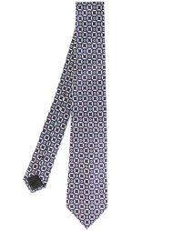 галстук с мелким узором Armani Collezioni
