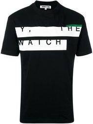 футболка с принтом 'Y, The Watch' McQ Alexander McQueen