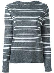 футболка в полоску DKNY
