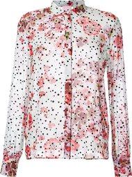 рубашка с цветочным принтом   Giamba