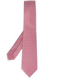 галстук с принтом котов Bulgari